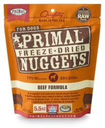 PRIMAL CANINE FREEZE-DRIED NUGGETS BEEF 5.5OZ