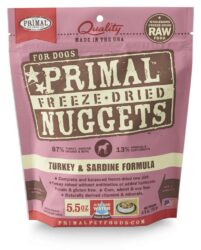 PRIMAL CANINE FREEZE-DRIED NUGGETS 5.5OZ