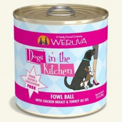 DOGS IN THE KITCHEN D FOWL BALL 10OZ