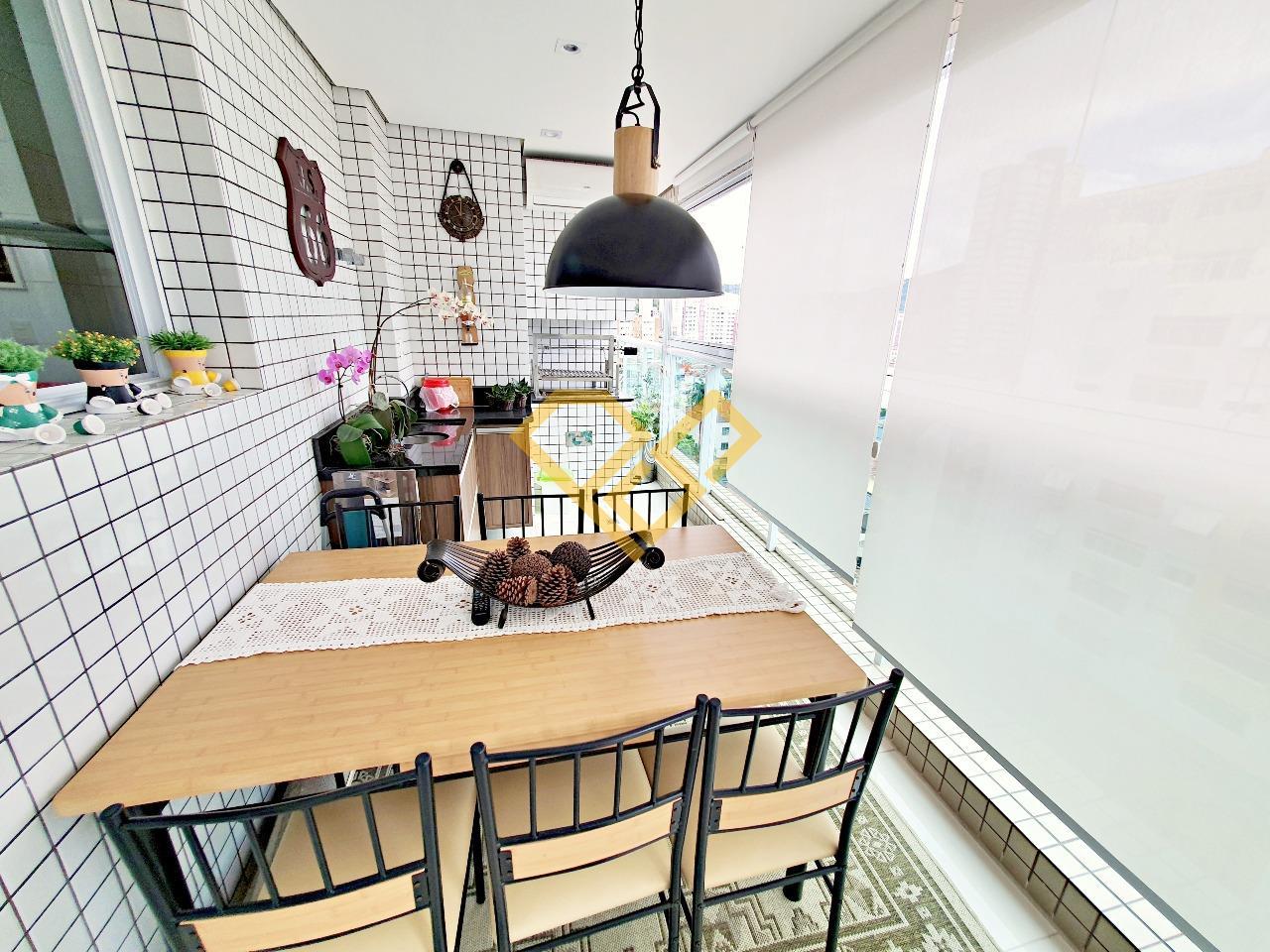 Apartamento à venda no Pompéia: Varanda gourmet