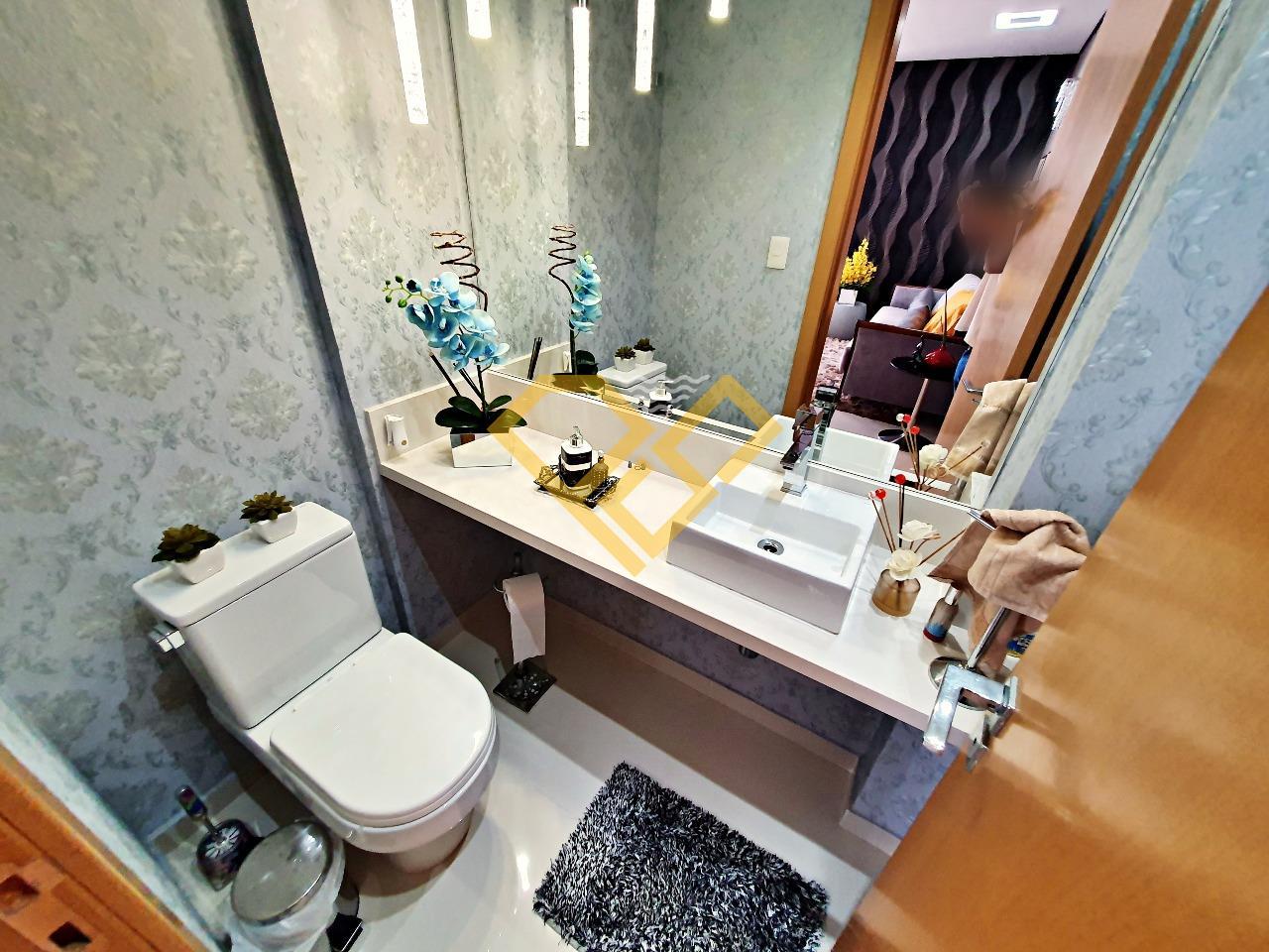Apartamento à venda no Pompéia: Lavabo