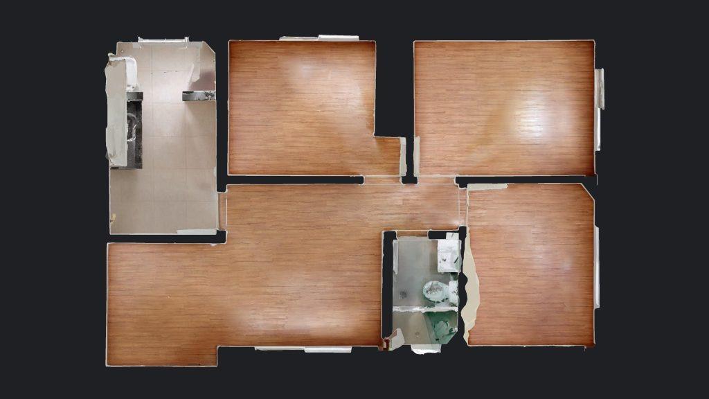 Estoril, Apartamento 3 quartos à venda , 1 vaga, 62,00m²