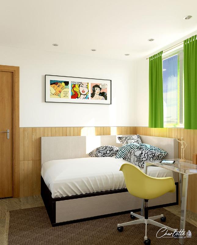 Estoril, Apartamento 2 quartos à venda , 1 vaga, 45,73m²