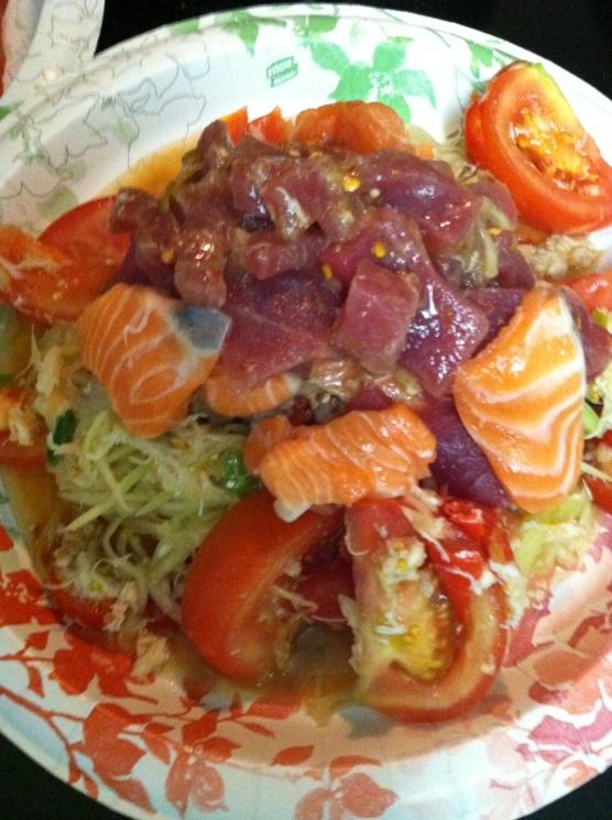 092bd8026950ee09597d793480187d42 Recipe Thai Green Papaya Salad, 'Som Tum' :: ImportFood
