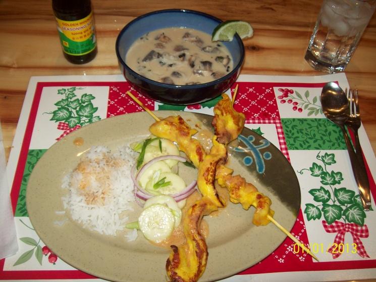 0c7d6c85822da830b8b99bbf4864fea8 Recipe Chicken Satay, 'Satay Gai' :: ImportFood