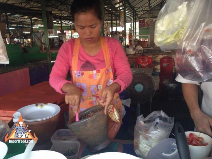 1abac31ada9885f4fb4c1b864f20ebc7 Recipe Thai Green Papaya Salad, 'Som Tum' :: ImportFood