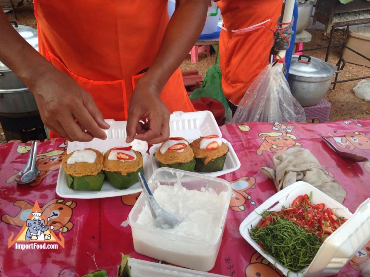 2abe34ddeaa88860d54d3f2551a0c735 Recipe Thai Fish Custard, 'Hor Mok' :: ImportFood