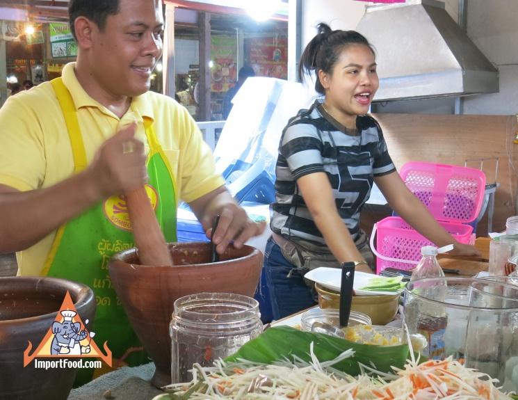33948b83f9883b4a5da63ad5a9c0d25b Recipe Thai Green Papaya Salad, 'Som Tum' :: ImportFood
