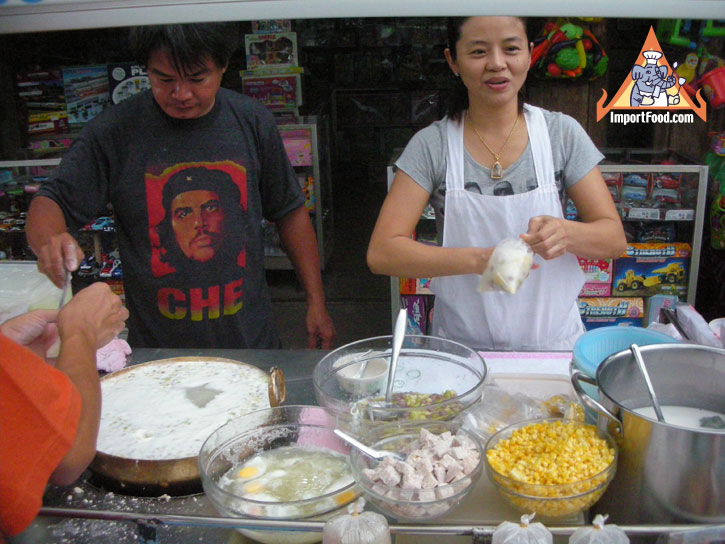 3a11650bfa88c8c930fe22286dc92df4 Recipe Thai Rice Balls in Warm Coconut Milk, 'Bua Loi' :: ImportFood