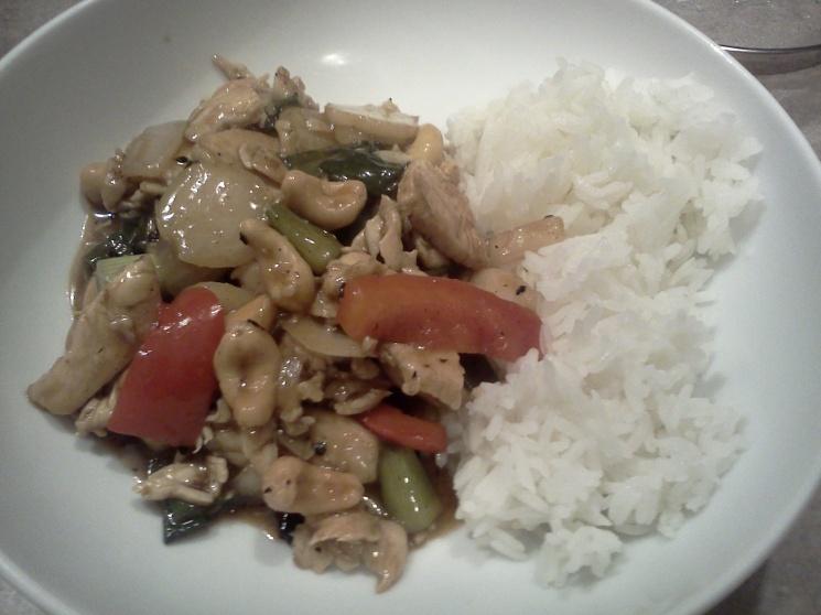 4efc180f66820c85fcc8209e7ab71123 Recipe Thai Cashew Chicken, 'Gai Pad Med Mamuang Himaphan' :: ImportFood