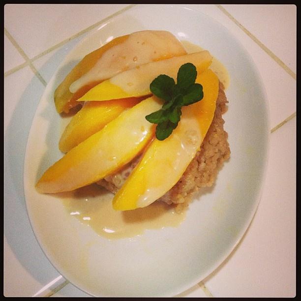 5361bdce1cffd2cae1c859461d129960 Recipe Thai Sweet Sticky Rice with Mango, 'Khao Neeo Mamuang' :: ImportFood