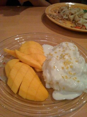 54dc3a102c4eb65e7644b1347dd8c812 Recipe Thai Sweet Sticky Rice with Mango, 'Khao Neeo Mamuang' :: ImportFood