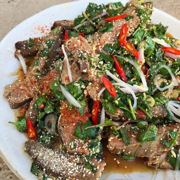 56bb9c7481182c5f9afdbd91e12e13e7 Recipe Waterfall Beef, 'Neua Yang Nam Tok' :: ImportFood