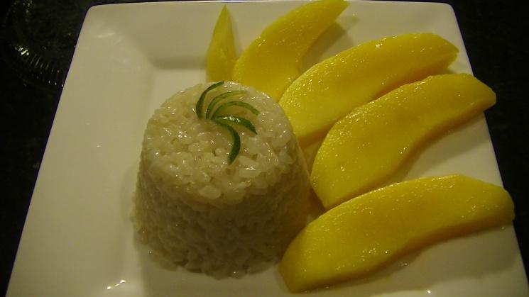 5940dff3607cc91ffd37d8881515c0bb Recipe Thai Sweet Sticky Rice with Mango, 'Khao Neeo Mamuang' :: ImportFood