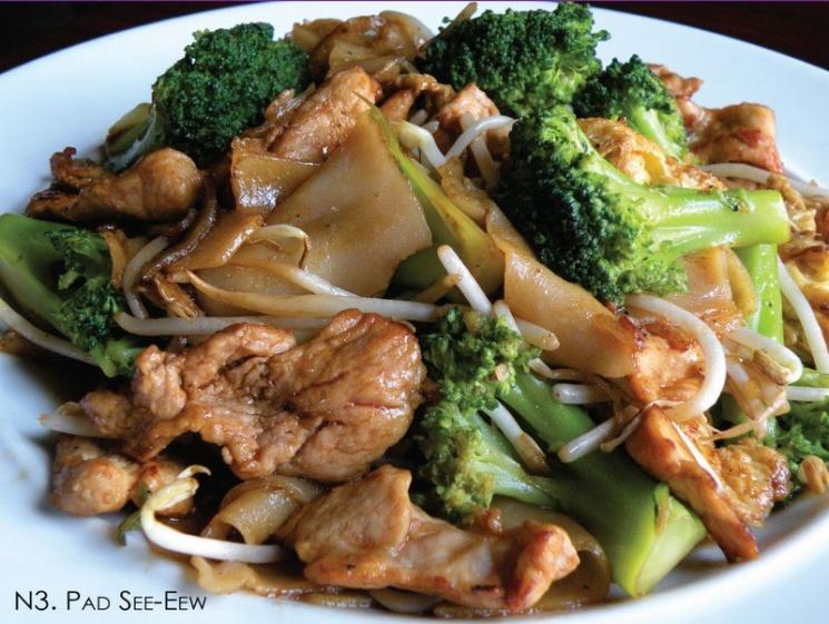 5d2af21a9fd8439ec9104abc17291d7d Recipe Thai Stir-Fried Wide Rice Noodles, 'Pad Si-iew' :: ImportFood