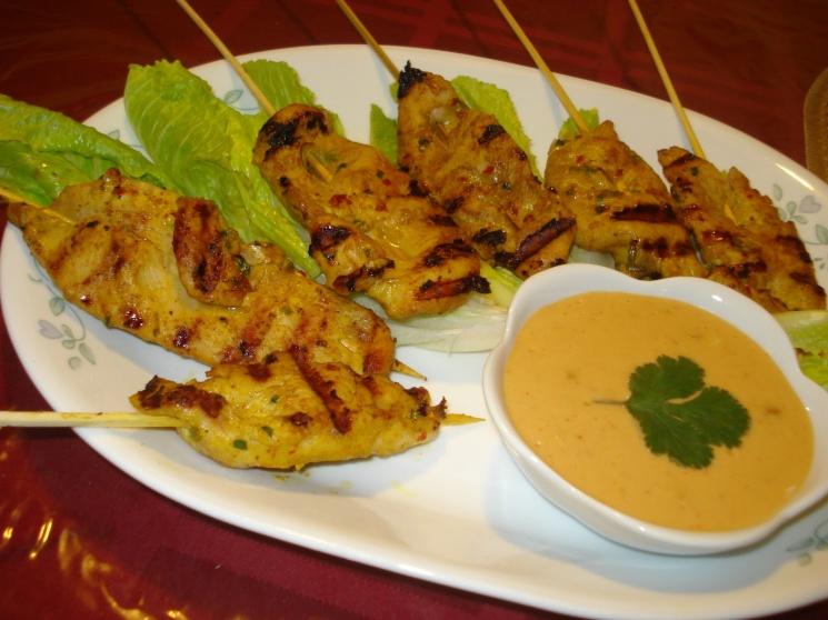 6148aa87059ca09c55385faff7c08065 Recipe Chicken Satay, 'Satay Gai' :: ImportFood