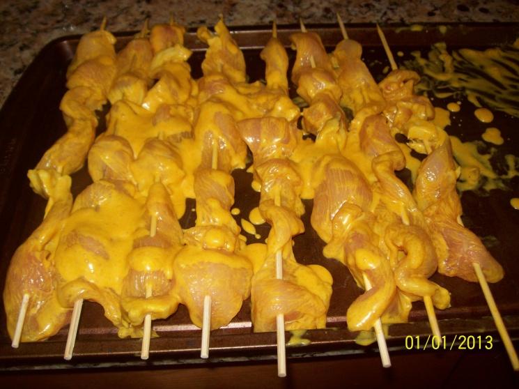 63c7f62ee2ccd9e24b371b7d9a48442e Recipe Chicken Satay, 'Satay Gai' :: ImportFood