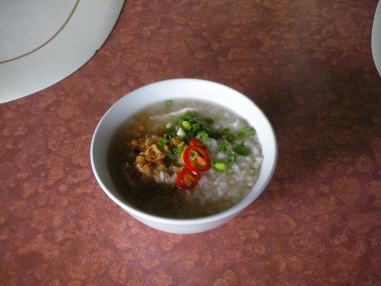 6c0eeed3b8b9cb0697c582ffc9b0b07a Recipe Thai Rice Soup with Shrimp, 'Khao Tom Goong' :: ImportFood