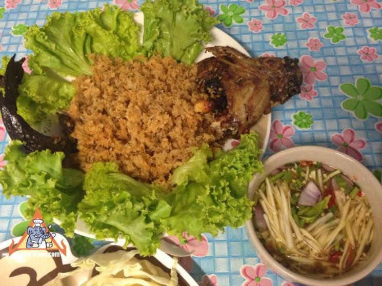 795b68d3057b932fff6148bc0cc9b480 Recipe Cotton Fish with Green Mango Salad, 'Pla Dook Foo' :: ImportFood