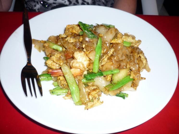 7fcfdf01c2c009d53d40663c63d4332f Recipe Thai Stir-Fried Wide Rice Noodles, 'Pad Si-iew' :: ImportFood