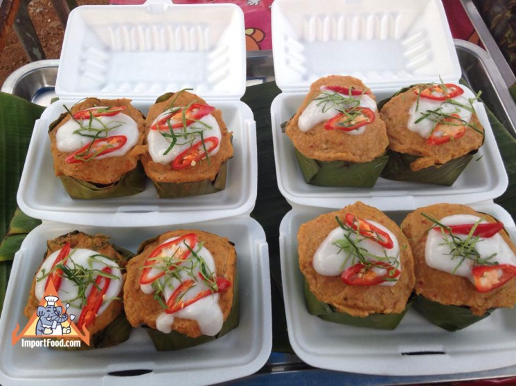 81a023e4aeebcfe2da4e191e686ec67e Recipe Thai Fish Custard, 'Hor Mok' :: ImportFood