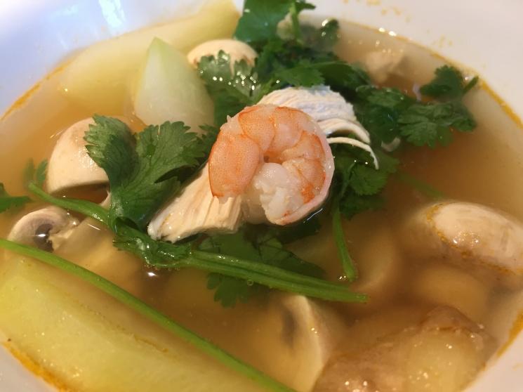 86f1a6f576943fcc5ea6364950b6275b Recipe Thai Prawn Soup with Lemongrass, 'Tom Yum Goong' :: ImportFood