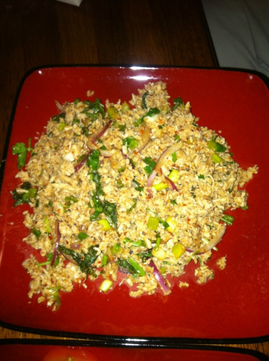 8e24873d2ae727cece967e5620fc5393 Recipe Thai Spicy Ground Chicken and Toasted Rice, 'Larb Gai' :: ImportFood
