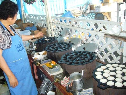 91c38882d00d487d91acc6af8fea6916 Recipe Thai Coconut Pudding, 'Khanom Krok' :: ImportFood