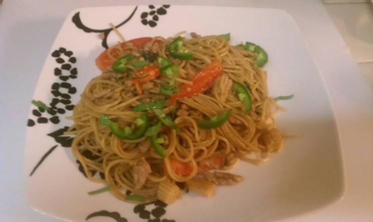91f4fec70f649cc3aaa80768ebae6bf3 Recipe Drunken Noodles, 'Pad Kee Mao' :: ImportFood