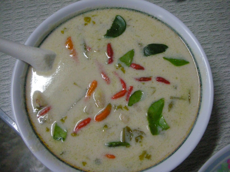 94cc29b972ceeb3c2338420bc0d9cab8 Recipe Thai Chicken Soup with Coconut Milk, 'Tom Kha Gai' :: ImportFood