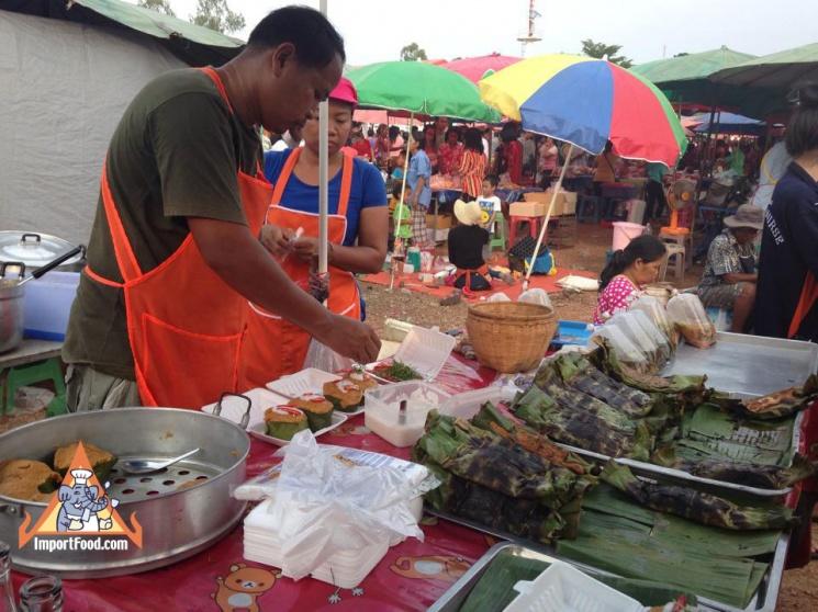 a7f8b47a340027162dd0fe0ed7477d77 Recipe Thai Fish Custard, 'Hor Mok' :: ImportFood