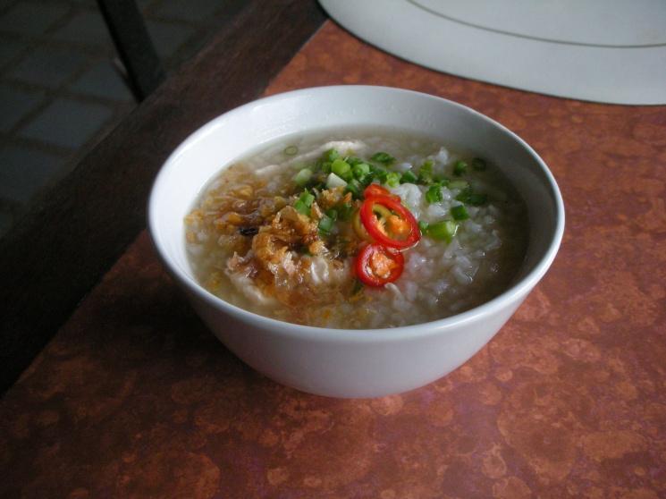 a8da11f9f05106bd65aa701c46a0fdfd Recipe Thai Rice Soup with Shrimp, 'Khao Tom Goong' :: ImportFood