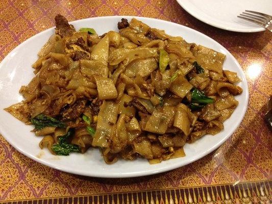 adb1b95aaa85334f8432afa814075821 Recipe Thai Stir-Fried Wide Rice Noodles, 'Pad Si-iew' :: ImportFood