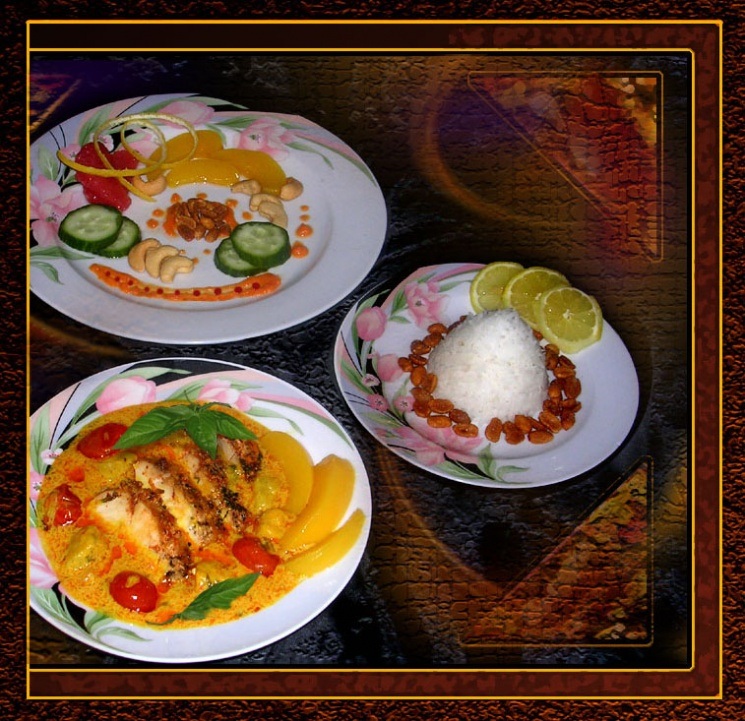 b4696192ba86c9aa65f652d85078cfcf Recipe Thai Red Curry Chicken, 'Gaeng Phed Gai' :: ImportFood
