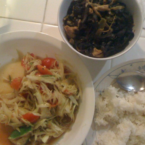 b4dac5a7317af11167c33b0a66c55b00 Recipe Thai Green Papaya Salad, 'Som Tum' :: ImportFood