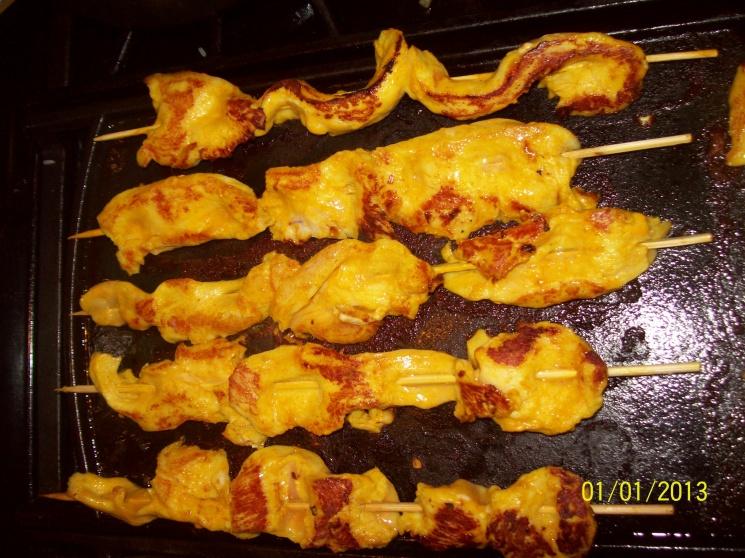bb63e02fc5c02332e340fde4852ef6f1 Recipe Chicken Satay, 'Satay Gai' :: ImportFood