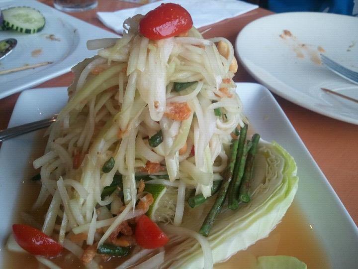 c07d4fc74b9e60d6c3ea9d499b7cb0bd Recipe Thai Green Papaya Salad, 'Som Tum' :: ImportFood