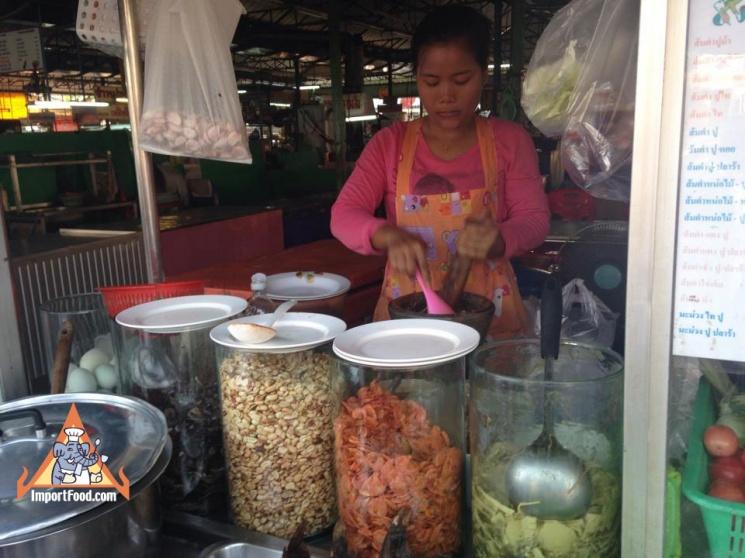c79c16d71db872fef97b7f60776921ad Recipe Thai Green Papaya Salad, 'Som Tum' :: ImportFood