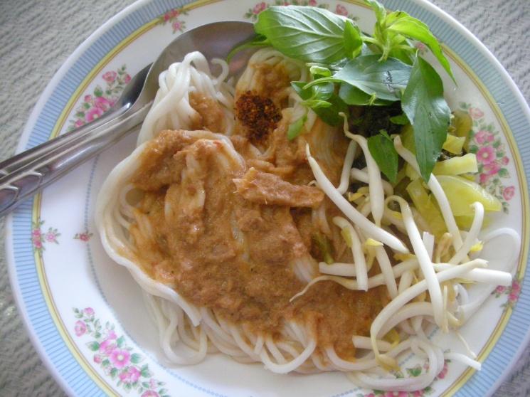 c893ce41b3600a225a7fc536c4e505a8 Recipe Noodles with Fish Curry, 'Khanom Jin' :: ImportFood