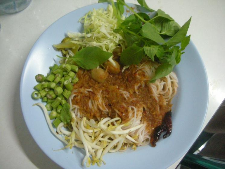 d04c58bafca78437b80fd26304500b99 Recipe Noodles with Fish Curry, 'Khanom Jin' :: ImportFood