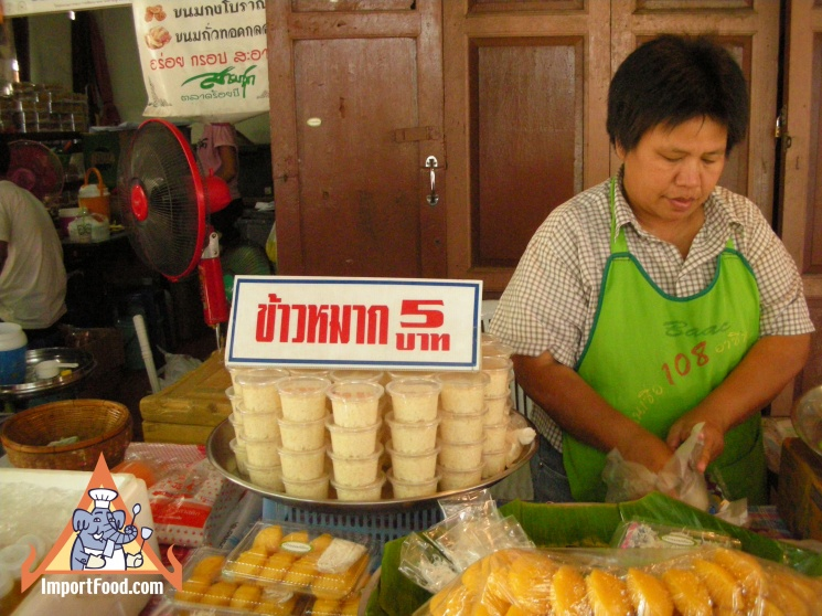 e26c6900bd723fead39fde8094203990 Recipe Thai Fermented Sweet Rice Dessert, 'Khao Mahk' :: ImportFood