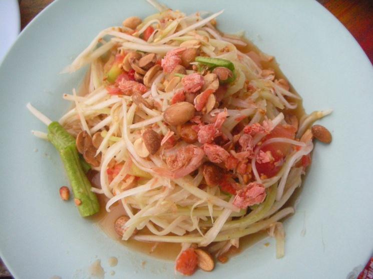 e2fa7a8f1a42ca944ef9e69df88c1246 Recipe Thai Green Papaya Salad, 'Som Tum' :: ImportFood