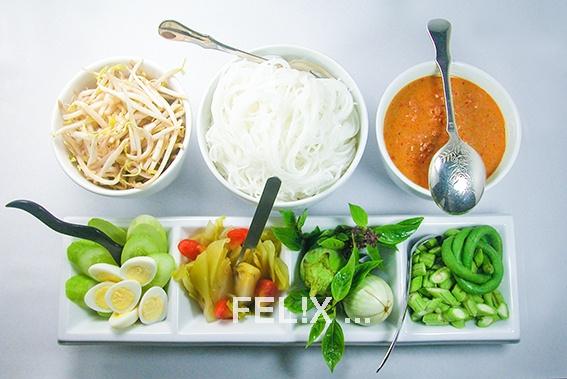 ec5dff574ec7733a1a3c2ffa3aab3f53 Recipe Noodles with Fish Curry, 'Khanom Jin' :: ImportFood