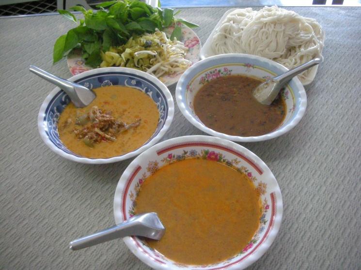 eca3330311ee3d26d987b9587c0a8563 Recipe Noodles with Fish Curry, 'Khanom Jin' :: ImportFood