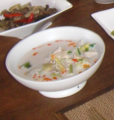 ecdffc734f9f9fe7d4538a07d537584c Recipe Thai Chicken Soup with Coconut Milk, 'Tom Kha Gai' :: ImportFood