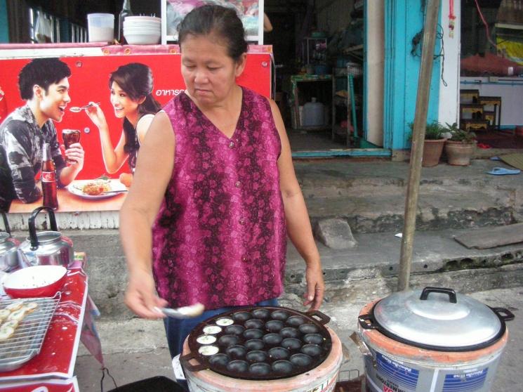 fe56a0a4d725d828f0a1e0b741ff9737 Recipe Thai Coconut Pudding, 'Khanom Krok' :: ImportFood