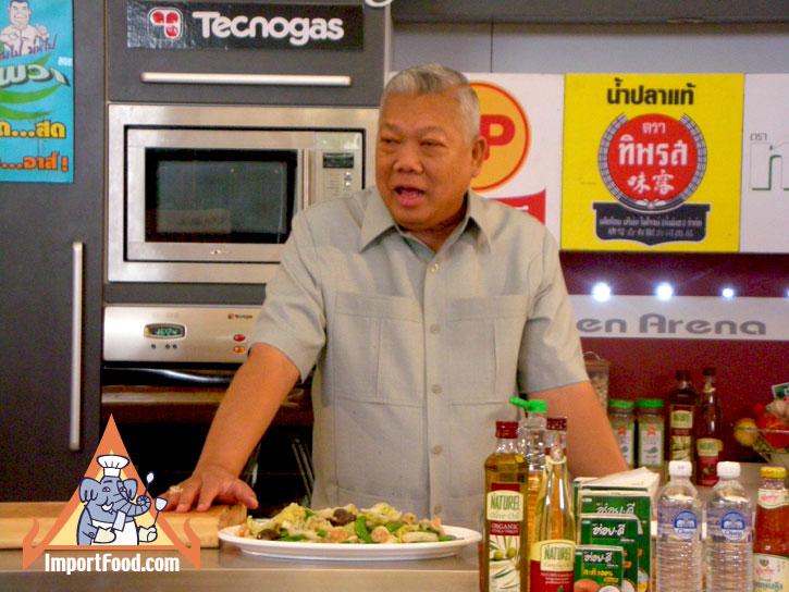 ff0b1ca29960982206e6374d2bdd154f Recipe Tom Kha Salmon, Prepared by the Prime Minister of Thailand :: ImportFood