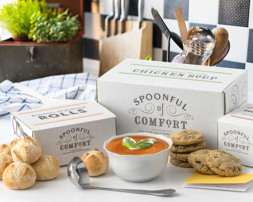 tomato soup cookies and rolls