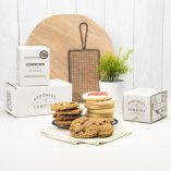 Send chocolate chip oatmeal raisin and sugar cookies