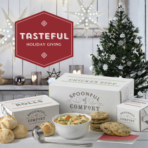 holiday soup delivery package